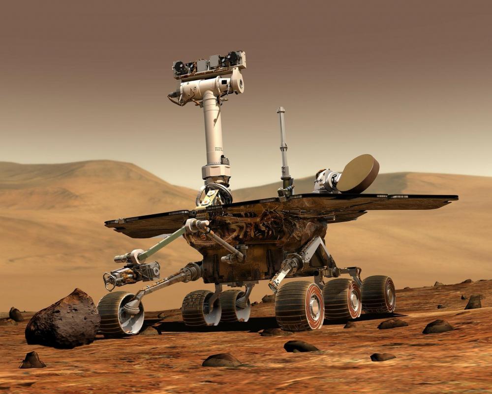 Mars'ta çekilen görüntü sosyal medyayı ikiye böldü! 1