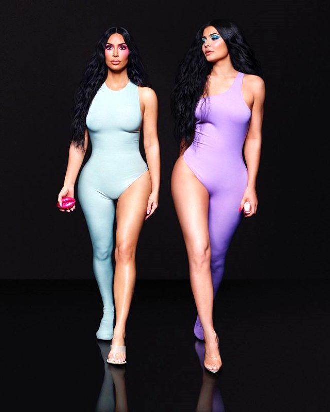 Kim Kardashian'ın sırrı parfüm reklamında ortaya çıktı 1