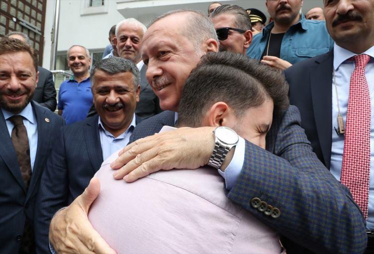 Cumhurbaşkanı Erdoğan'a Trabzon'da sevgi seli 1