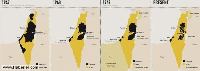 İsrail'in kanlı işgali böyle gerçekleşti 10