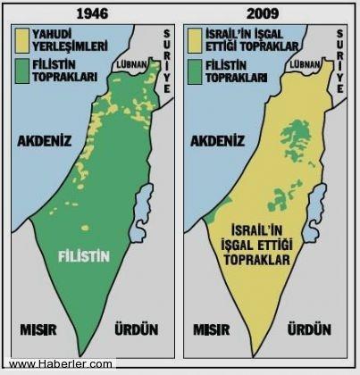 İsrail'in kanlı işgali böyle gerçekleşti 12