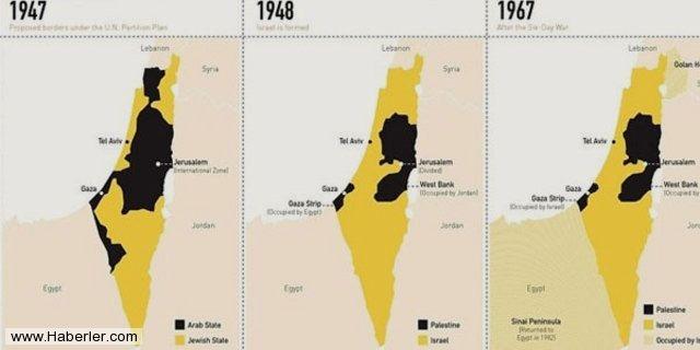 İsrail'in kanlı işgali böyle gerçekleşti 2