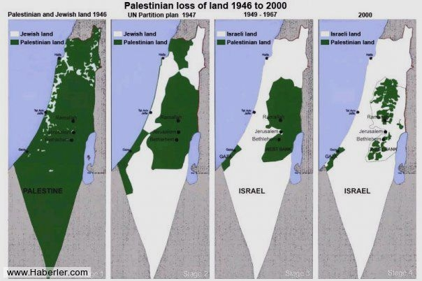 İsrail'in kanlı işgali böyle gerçekleşti 6