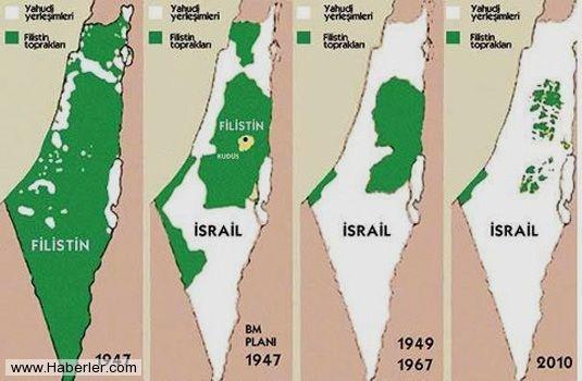 İsrail'in kanlı işgali böyle gerçekleşti 7
