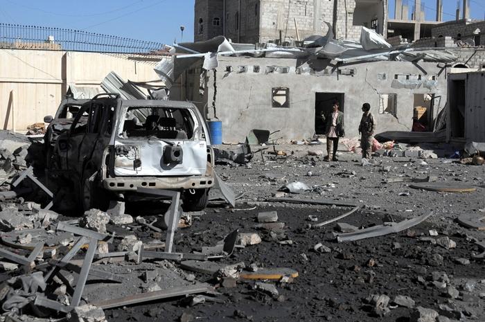 Arabistan Yanlış yerimi vurdu! 51 ölü, 80 yaralı 10