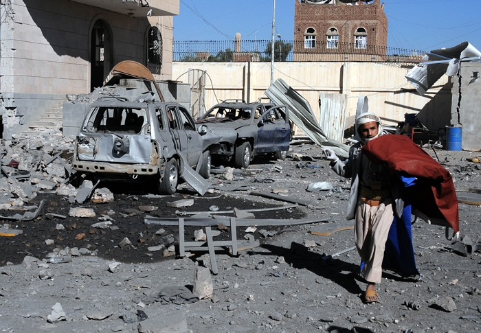 Arabistan Yanlış yerimi vurdu! 51 ölü, 80 yaralı 11