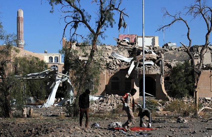 Arabistan Yanlış yerimi vurdu! 51 ölü, 80 yaralı 13