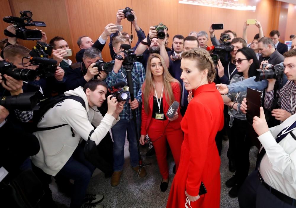 Dikkat Çekmek İçin Putin'in Basın Toplantısnıa Katıldı 8