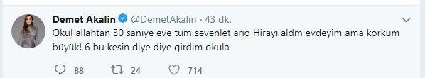 Ünlülerden korkutan İstanbul depremi paylaşımı 1
