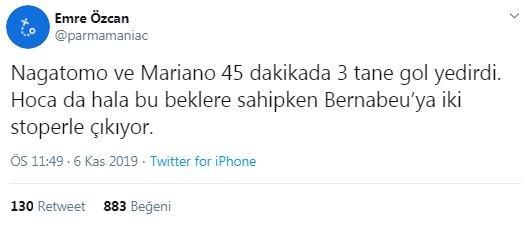 Yuto Nagatomo'ya tepki yağdı! Galatasaray Real Madrid maçı sonrası yorumlar 1
