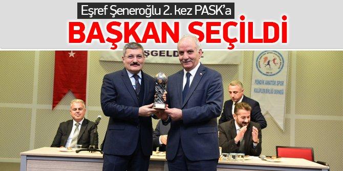Eşref Şeneroğlu 2. Kez PASK başkanı seçildi