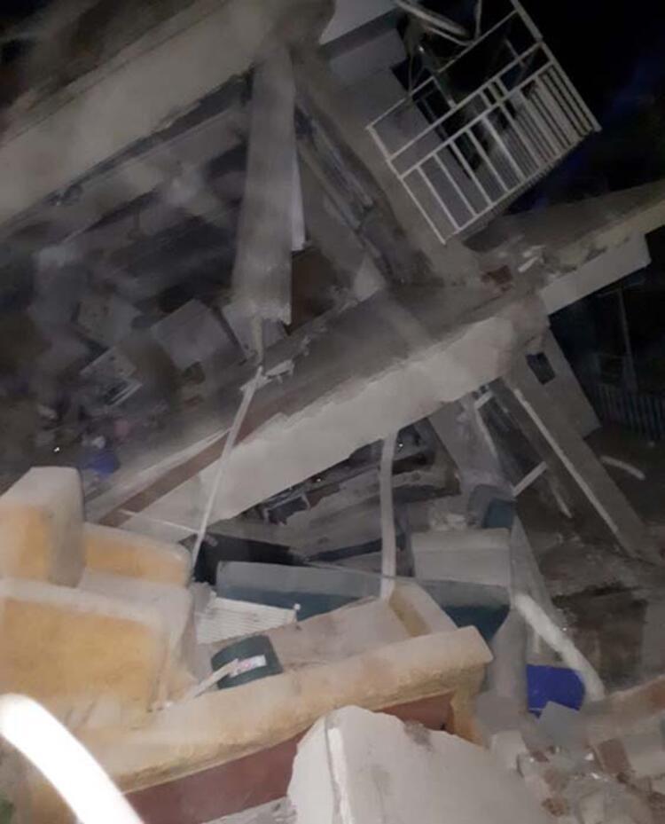Depremin ardından Elazığ'da yürek burkan görüntüler... 4