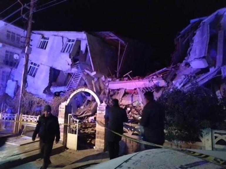 Depremin ardından Elazığ'da yürek burkan görüntüler... 5
