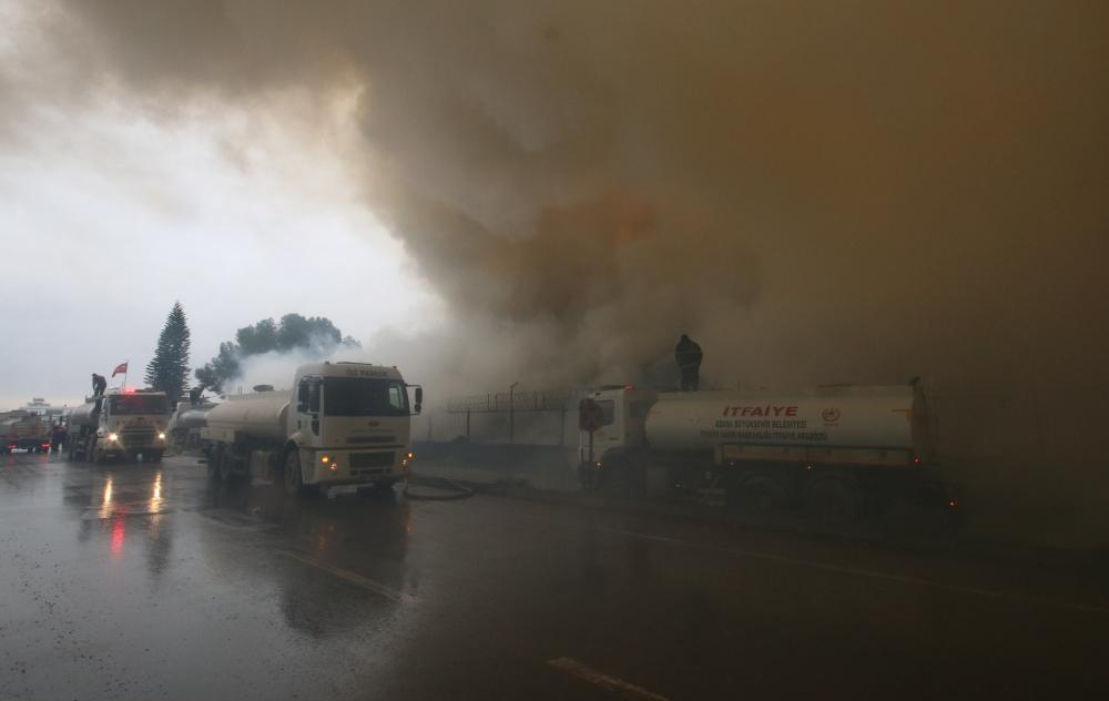 Adana'daki yangın 50 saattir söndürülemedi! İşte yangından görüntüler 1