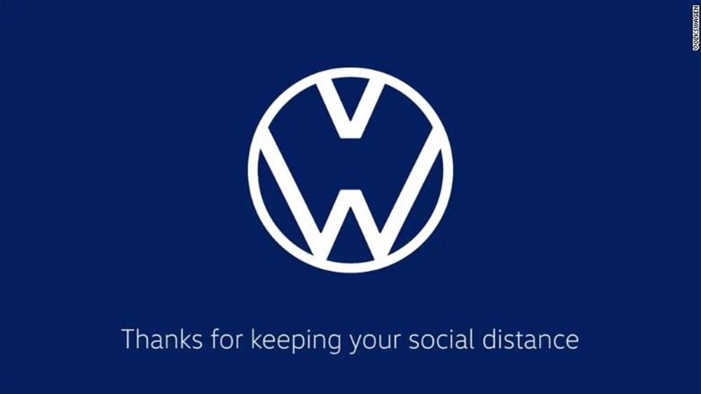 Sosyal mesafeye dikkat çekmek için markalar logolarını değiştirdiler 1