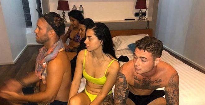 Virüs umurlarında olmadı! Apartmanda uyuşturuculu cinsel ilişki partisi verdiler 1