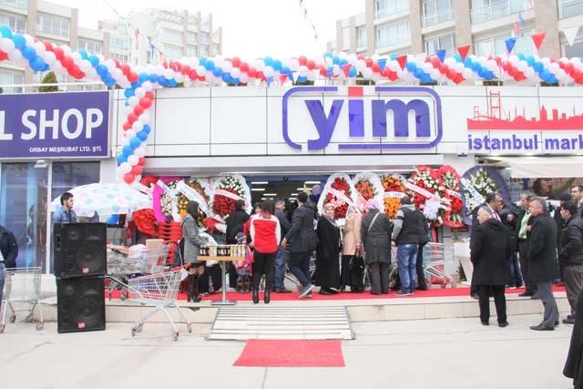 Yeni İstanbul Marketi'nin Açılışı Gerçekleşti 2