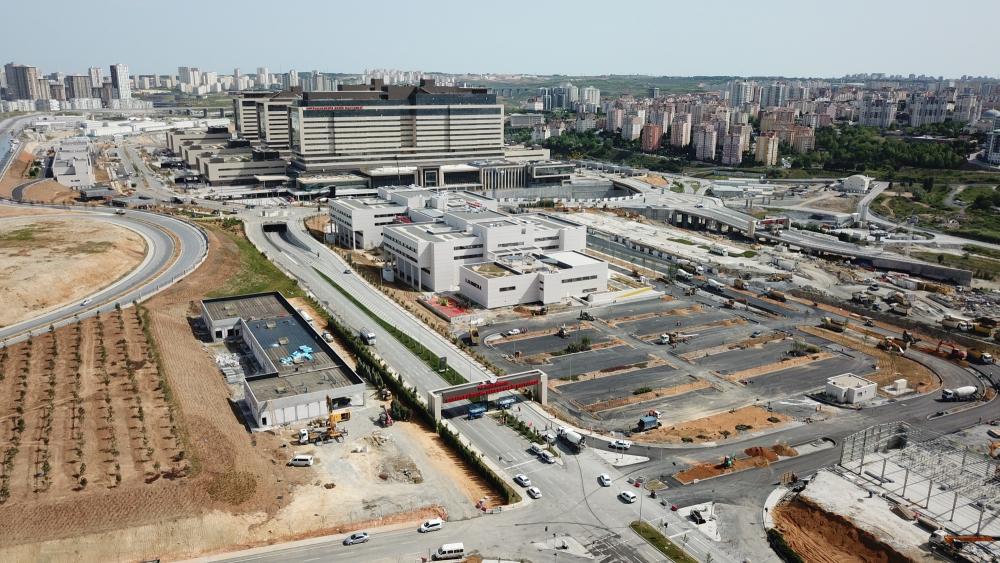 Başakşehir Çam ve Sakura Şehir Hastanesinde perşembe günü açılacak 1