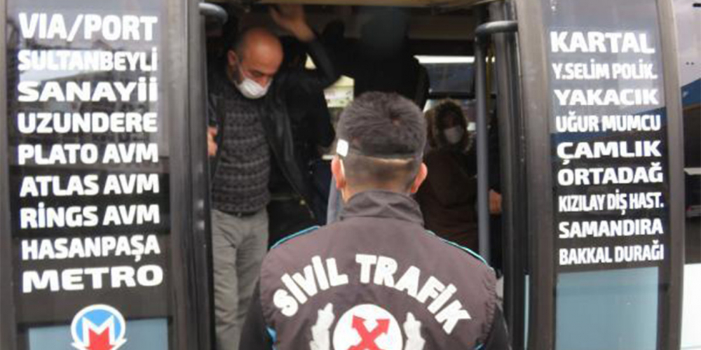 İlk iş gününde kuralları çiğneyen minibüslere ceza üstüne ceza! 1