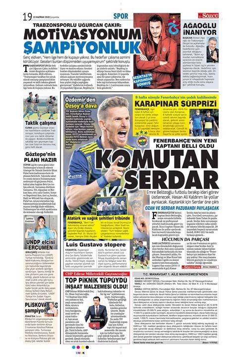 10 Haziran spor manşetleri! Üç büyükler transferde atağa kalktı 1