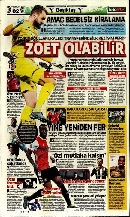 10 Haziran spor manşetleri! Üç büyükler transferde atağa kalktı 10