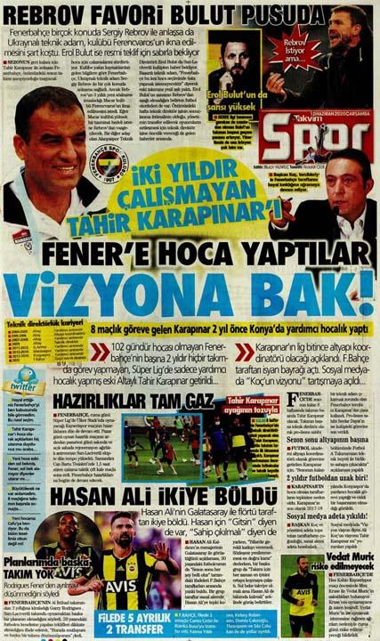 10 Haziran spor manşetleri! Üç büyükler transferde atağa kalktı 11