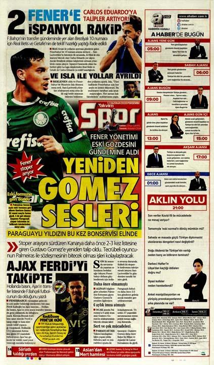 11 Haziran spor manşetleri! Fener ve cimbom transfer bombalarını patlatıyor 9