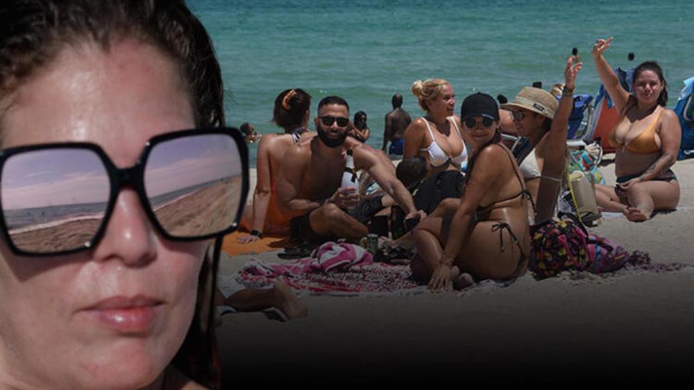 Koronavirüsj yasağı kalkınca plaja akın ettiler 19