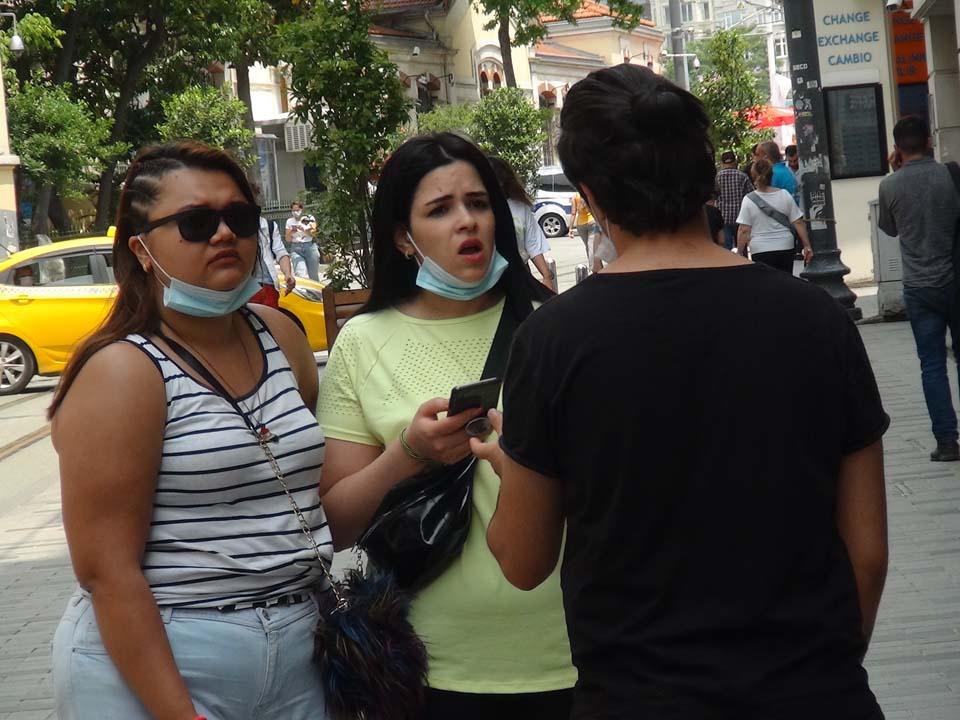 Koronavirüs Taksim Meydanı ve İstiklal Caddesine uğramamış! Pes dedirten görüntüler... 3