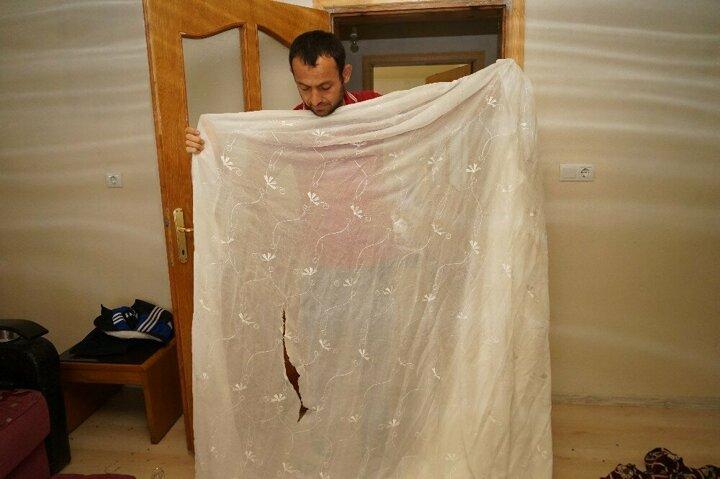 Kastamonu'da aç kalan ayı evi yağmaladı 3
