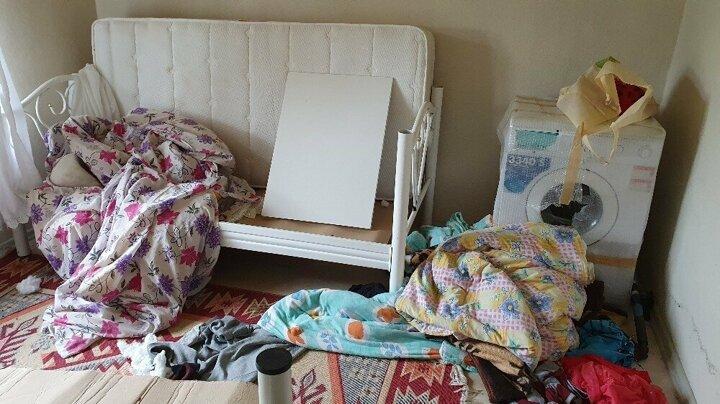 Kastamonu'da aç kalan ayı evi yağmaladı 5