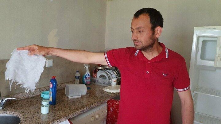Kastamonu'da aç kalan ayı evi yağmaladı 8