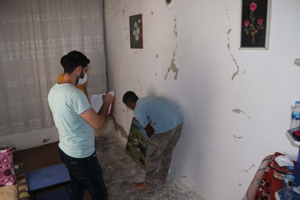 Şanlıurfa'daki şiddetli deprem bu hale getirdi! 14