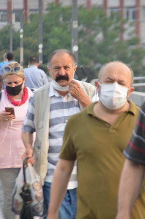 Maske takma zorunluğu başladı! İstanbullular güne maske takarak başladı 8