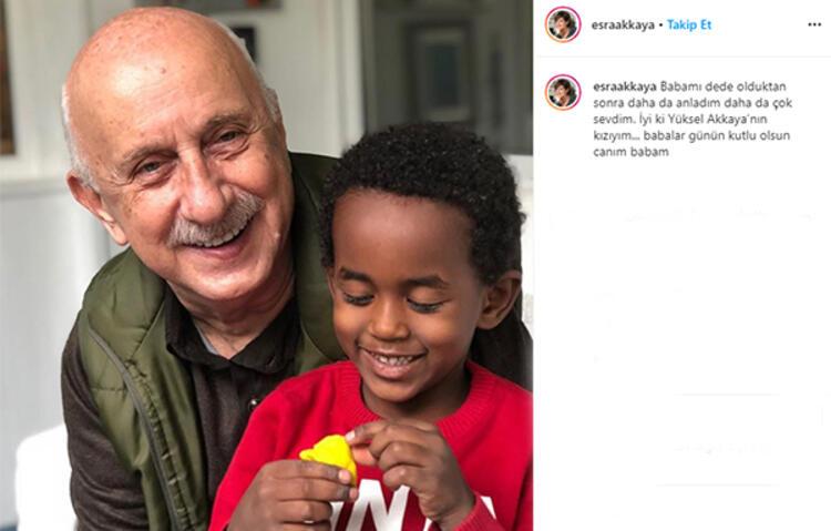 Ünlü isimlerden 'Babalar Günü' paylaşımları 9