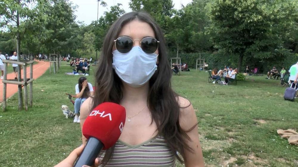 İstanbullular Caddebostan Sahiline akın etti! Maske ve sosyal mesafe unutuldu 4
