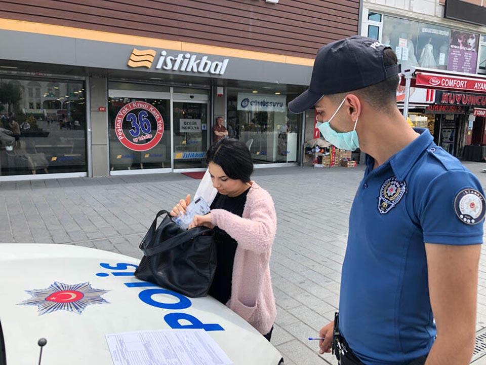 Beşiktaş ve Esenyurt'ta maske denetimi! Takmayı unutanlar cezadan kaçamadı 1