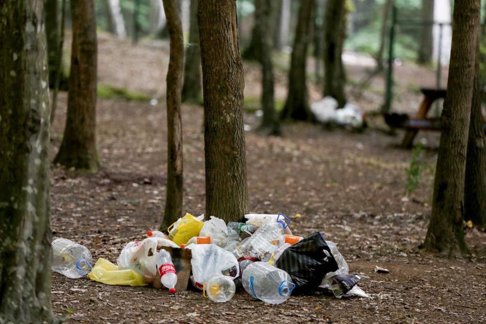 Belgrad Ormanı'nda utandıran görüntüler! Buldukları gibi bırakmadılar 12