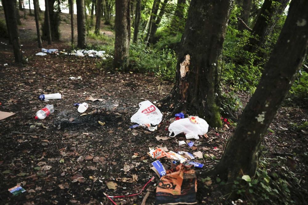 Belgrad Ormanı'nda utandıran görüntüler! Buldukları gibi bırakmadılar 3