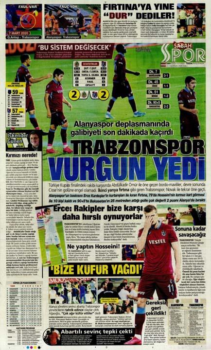 23 Haziran spor manşetleri! Fener'in hocası belli oldu, Trabzon'a Alanya'da çelme 1