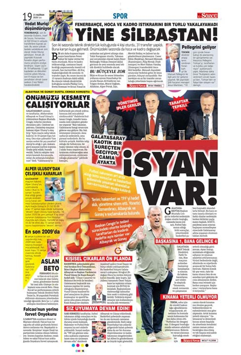 23 Haziran spor manşetleri! Fener'in hocası belli oldu, Trabzon'a Alanya'da çelme 10