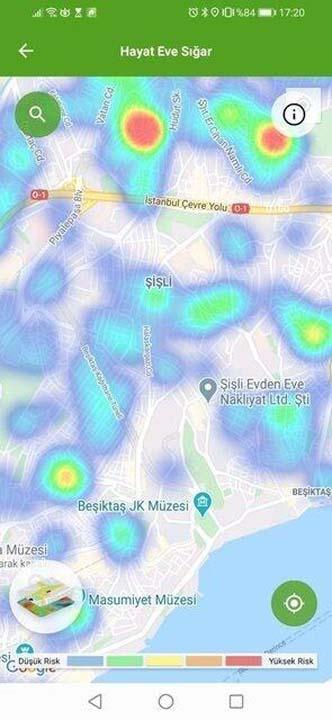 İstanbul'un bu ilçelerine giderken bir kez daha düşünün! İşte en riskli ilçeler... 35