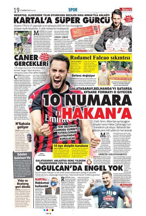 25 Haziran spor manşetleri! Fener transferde taarruza kalktı 12