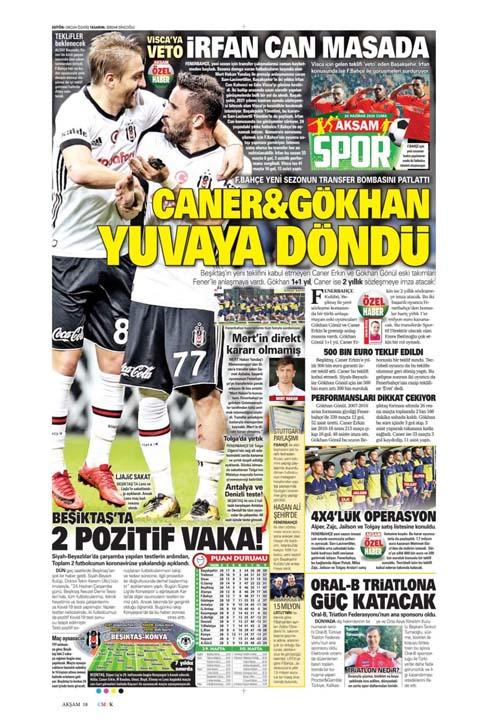 26 Haziran spor manşetleri! Galatasaray'dan çok konuşulacak hamle 14