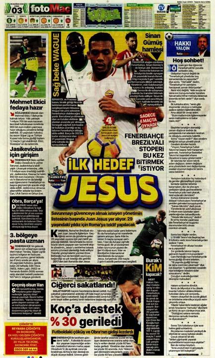 26 Haziran spor manşetleri! Galatasaray'dan çok konuşulacak hamle 15