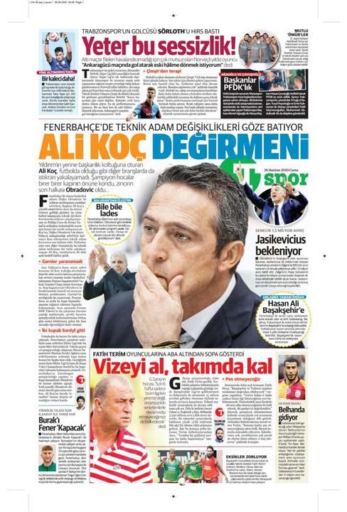 26 Haziran spor manşetleri! Galatasaray'dan çok konuşulacak hamle 16