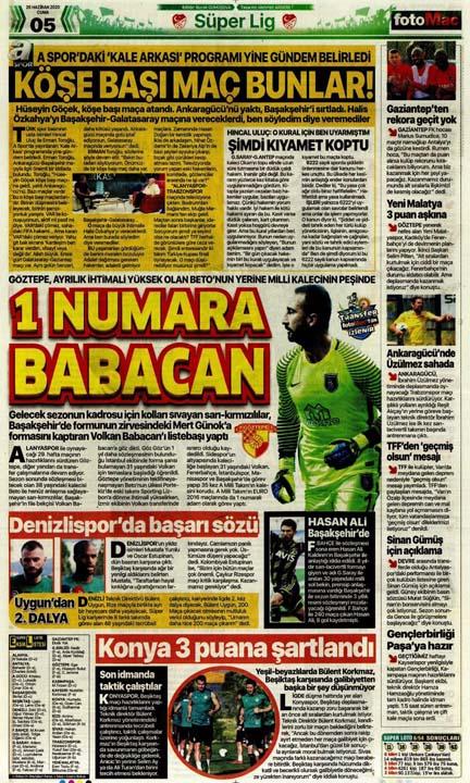 26 Haziran spor manşetleri! Galatasaray'dan çok konuşulacak hamle 7