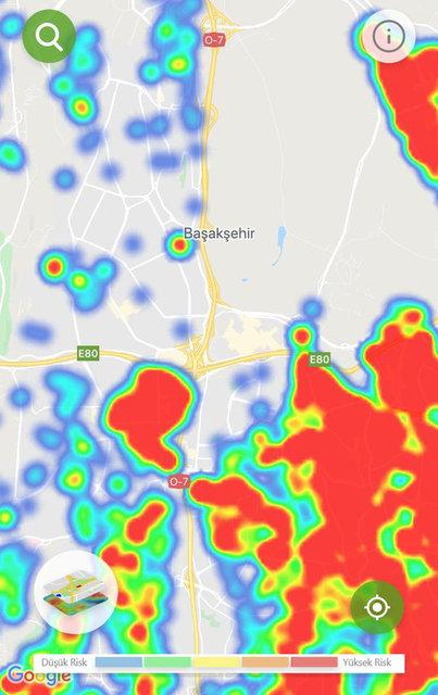 Harita güncellendi! İşte İstanbul ve Ankara'da son durum... 8