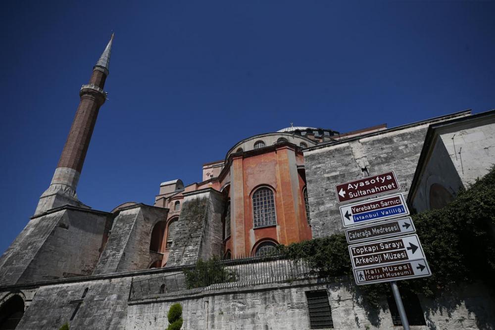 Ayasofya'ya ibadet yolu açıldı! Vatandaşlar akın etti 3