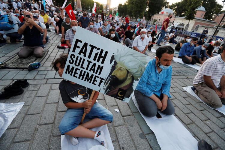 Yunanistan'dan Ayasofya ile ilgili küstah çıkış! 20